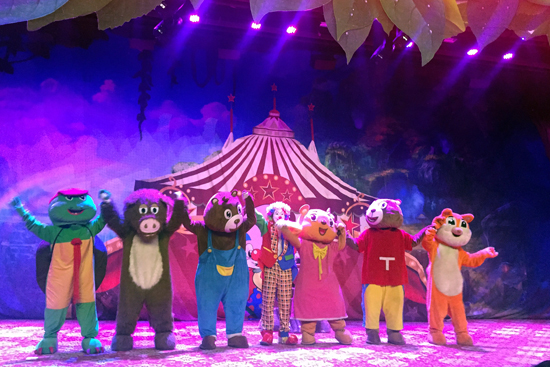 儿童舞台剧《森林故事之熊来了》登陆江南春温泉